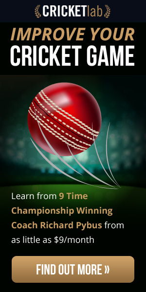Cricket Lab. Improve Your Cricket Game. Learn From 9 Times Championship Winning Coach Richard Pybus from as little as $9 per month. Find out more