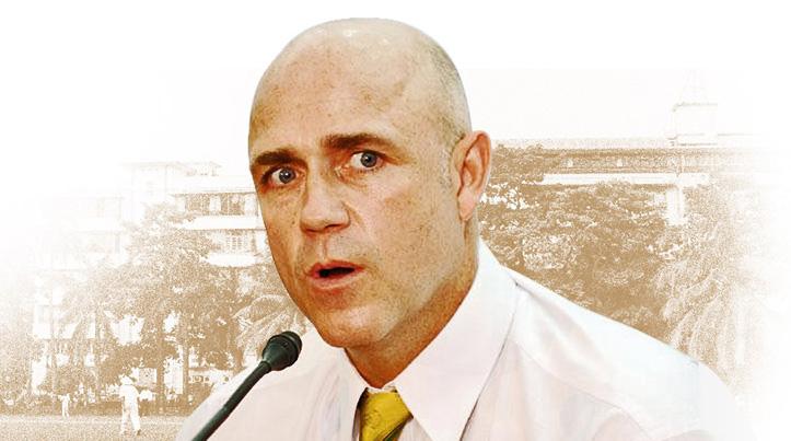 cricket coach Richard Pybus