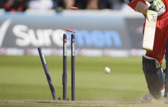 taking a wicket